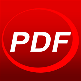 PDF Reader Logo and Link to Microsoft Store